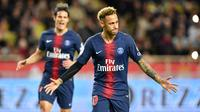 6. Neymar Jr (Paris Saint-Germain) - 5 gol dan 2 assist (AFP/Yann Coatsaliou)