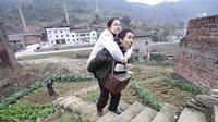 Li Hongju dan suaminya Liu Xingyan. (chinacqsb.com)