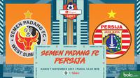 Shopee Liga 1 - Semen Padang FC Vs Persija Jakarta (Bola.com/Adreanus Titus)