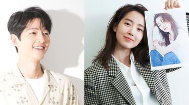 Song Joong Ki dan Shin Hyun Been. (Instagram/ hi_songjoongki - hyunbeenshin)