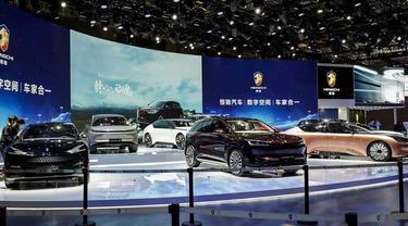 Deretan mobil listrik yang memulai debutnya di Shanghai Auto Show 2021