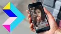 Tribe, aplikasi berkirim video yang didukung dengan fitur pengenalan suara (sumber: techcrunch.com)
