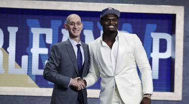 NBA Draft 2019: Pelicans Ambil Zion Williamson