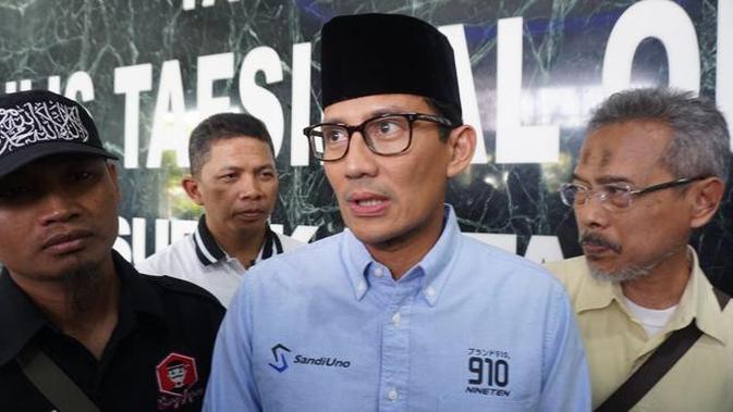 Sandiaga Uno Janjikan UMKM Jadi Tulang Punggung Penyerapan Tenaga Kerja
