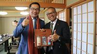 Buku Menu Investasi yang ditawarkan Ridwan Kamil ke mitra bisnis di Korea dan Jepang.