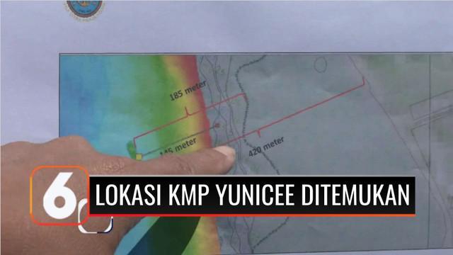 KRI Rigel 933 berhasil menemukan titik lokasi tenggelamnya bangkai KMP Yunicee. KMP Yunicee teridentifikasi berada di kedalaman 78 meter di dasar laut dalam posisi duduk atau tidak dalam posisi terbalik.