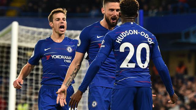 Oliver Giroud, Hudson-Odoi, dan Cesar azpilicueta, perpaduan antara pemain muda tua di Chelsea