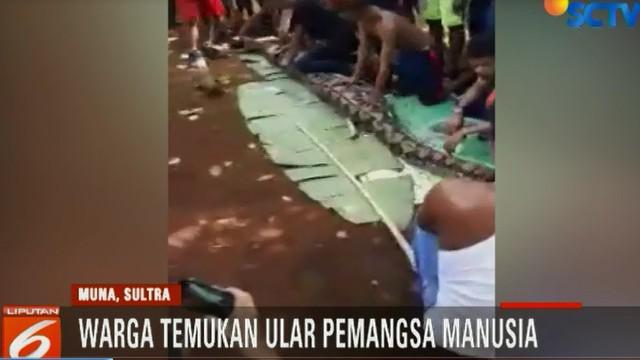 Korban diduga dimangsa ular saat bekerja di kebun miliknya pada Kamis pagi, 14 Juni 2018.