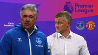 Premier League - Everton Vs Manchester United - Head to Head Pelatih (Bola.com/Adreansu TItus)