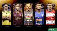 Trivia Parade Kostum Klub Liga 1 (Bola.com/Adreanus Titus)