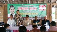 Calon Wakil Gubernur Jawa Tengah, Taj Yasin Maimoen, bertemu pengusaha Rembang (Tim Media Taj Yasin)