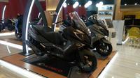 Kymco Downtown 250i dapat mengancam keberadaan Yamaha XMax (Arief/Liputan6.com)