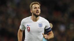 5. Harry Kane (8 Hattrick) - Harry Kane juga memiliki delapan hat-trick saat bermain untuk Tottenham dan masih aktif bermain di Premier League saat ini. (AFP/Adrian Dennis)