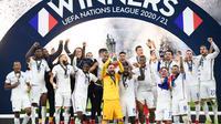 Gol Kontroversial Mbappe Bawa Prancis Juara UEFA Nations League (AFP)