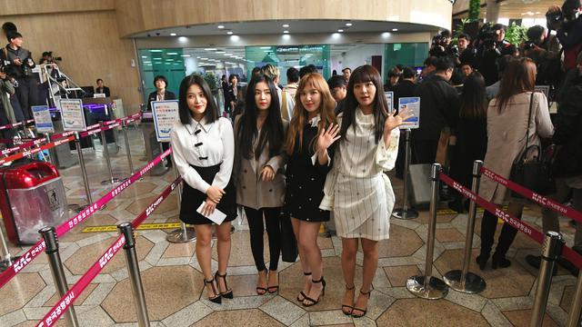 Girlband K-Pop Red Velvet Tampil Menghibur di Korea Utara