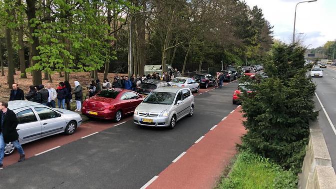 Suasana pemilu di Den Haag, Belanda, Sabtu 13 April 2019. (PPLN Den Haag)