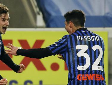 FOTO: Taklukkan Lazio, Atalanta Melaju ke Semifinal Coppa Italia