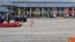 Citizen6, Jakarta: Upacara penyambutan kedatangan KRI Frans Kaisiepo 368, mendapat perhatian besar dari para pejabat TNI. (Pengirim: Badarudin Bakri Badar)
