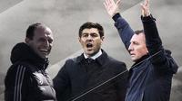 Massimiliano Allegri, Steven Gerrard dan Brendan Rodgers. (Bola.com/Dody Iryawan)