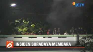 Polrestabes Surabaya memeriksa saksi dari PT KAI terkait insiden drama kolosal Surabaya Membara. PT KAI menegaskan panitia tak ada koordinasi sehingga tidak ada petugas yang bisa turun untuk amankan jalur.
