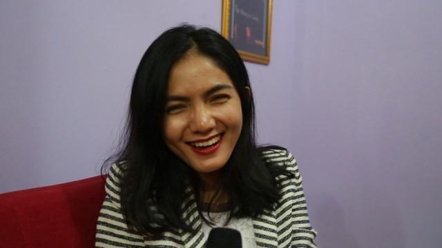 Mengaku asli dari Sumatera Selatan, artis cantik ini gelagapan ketika ditanya tentang pempek Palembang.