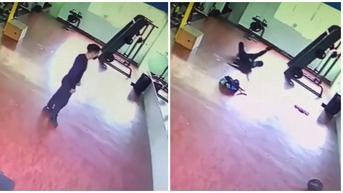 Viral Video Kaki Pria Ditarik Makhluk Halus saat Nge-Gym, Bikin Merinding