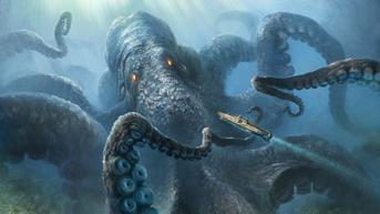 Cumi-Cumi Raksasa, Monster Misterius di Dunia Nyata dari Laut Dalam