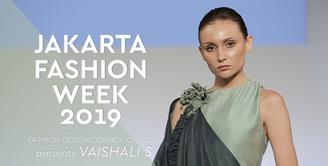 JFW 2019: Fashion Design Council of India presents Vaishali S