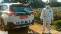 Mobil dinas Dishub yang diubah jadi ambulans (Instagram/sudinhub_jaktim)