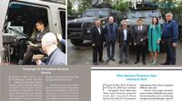 Buku Perjalanan Kerja Tahun Ketiga Dubes RI di Kyiv. Dok: KBRI Kyiv