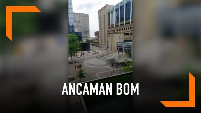 Ibu Kota Belgia, Brussel menerima ancaman serangan bom. Ancaman bom datang pada pukul 1 siang.