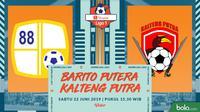 Shopee Liga 1 - Barito Putera Vs Kalteng Putra (Bola.com/Adreanus Titus)