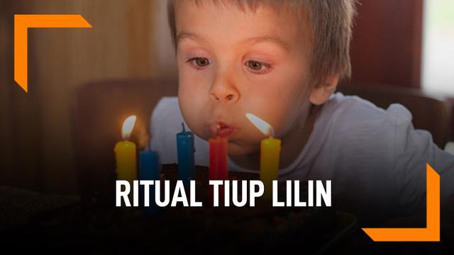 Asal Mula Ritual Tiup Lilin Saat Ulang Tahun