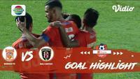 Berita video gol-gol yang dicetak Borneo FC saat menaklukkan Bali United dalam lanjutan Shopee Liga 1 2019, Jumat (18/10/2019).