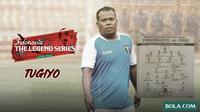 Legend Series: Tugiyo. (Bola.com/Dody Iryawan)