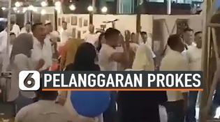 VIDEO: Oknum Perwira di Polda Jambi Diduga Melanggar Prokes