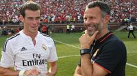 Gareth Bale dan Ryan Giggs.