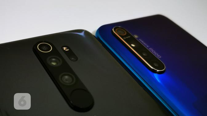 Kamera Realme XT dan Redmi Note 8 Pro. Liputan6.com/Mochamad Wahyu Hidayat