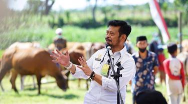 Menteri Pertanian Syahrul Yasin Limpo (SYL)