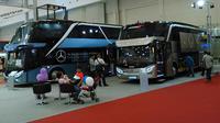 Karoseri yang berbasis di Malang tersebut menampilkan Mercedes Benz OC RF 2542 dan Scania K 360 dalam bodi yang dinamai Jetbus 2