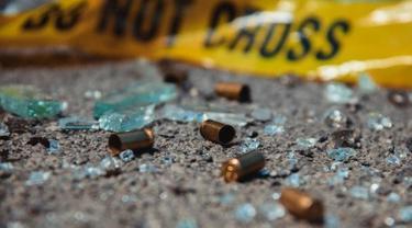 ilustrasi peluru tembakan.