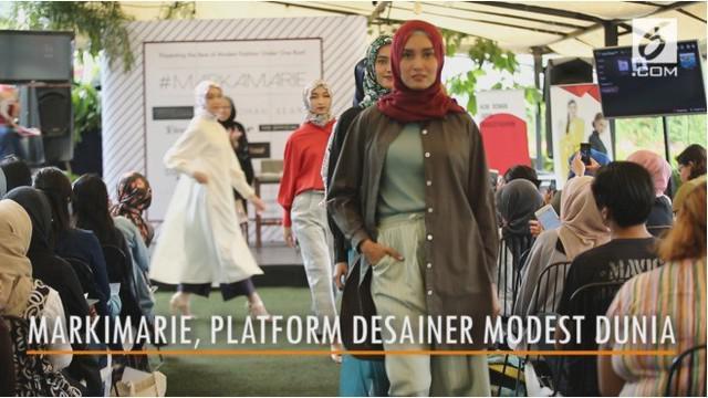 Pesatnya perkembangan fesyen modest di dunia, membuat Franka Soeria melahirkan Markiemarie sebagai platform berkumpulnya desainer modest dunia.
