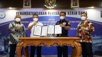 KKP menjalin kerja sama dengan Kementerian Perdagangan dalam memperketat pengawasan impor produk hasil perikanan dan komoditas pergaraman. (Dok KKP)