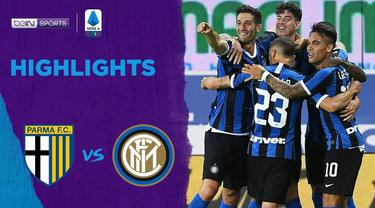 Berita Video Highlights Serie A, Inter Milan Menang Tipis Atas Parma 2-1