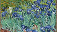 Lukisan Irises karya Van Gough. (Wikimedia/Uploaded by: DcoetzeeBot)