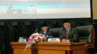 Gubernur dan Wakil Gubernur DKI Anies Baswedan dan Sandiaga Uno. (Liputan6.com/Delvira Chaerani Hutabarat)