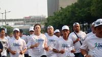 Mekaki Marathon akan diikuti selebritas seperti Wulan Guritno dan mengusung misi semangati warga Lombok (istimewa)