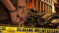 Ilustrasi Pencurian Motor Sumsel (Liputan6.com/Andri Wiranuari)