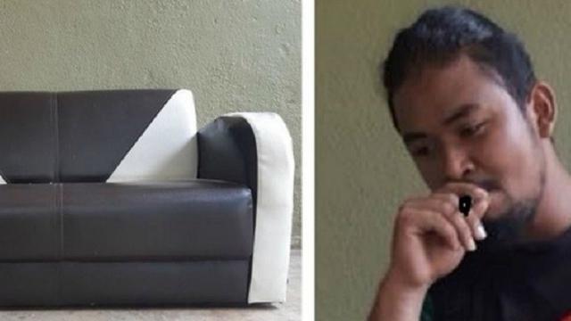 Pria Ini Beli Sofa Secara Online Tapi