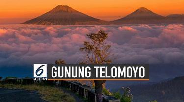 Gunung Telomoyo terletak di Kabupaten Semarang dan Kabupaten Magelang, Jawa Tengah.